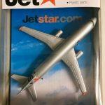Die Cast Metal Jetstar Plane